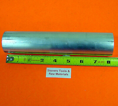 1-18 6061 T6511 Aluminum Solid Round Rod Bar 8 Long New Lathe Stock 1.125