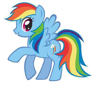 Rainbow Dash My Little Pony Iron On Transfer 5