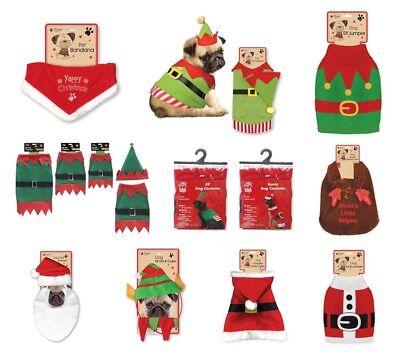 Weihnachten Neuheit Hund Kostüm Outfits Weihnachtself Rentier Kapuzenpullover