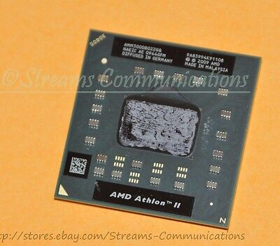 AMD Athlon II Dual-Core M300 2.0GHz Laptop CPU for Gateway NV5378u Notebook