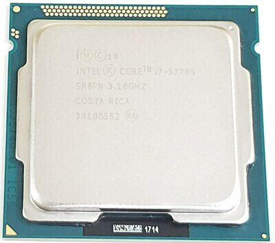 Intel Core i7-3770S 3.1GHz Quad 8MB Socket LGA 1155 CPU SR0PN