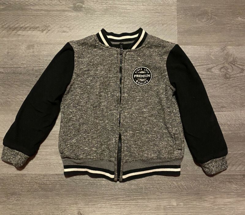 Boys REVERSIBLE Sweater Jacket - Size S