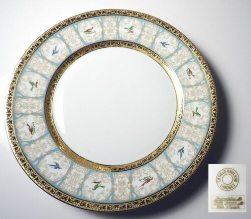 Chas Field Haviland POMPADOUR Dinner Plate(s)