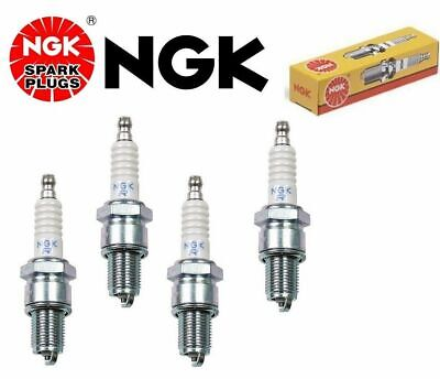Stk #5534 Set of 4 New NGK Copper Spark Plugs BPR7ES