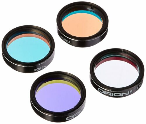 Orion 5563 1.25-Inch LRGB Astrophotography Filter Set ***NEW***