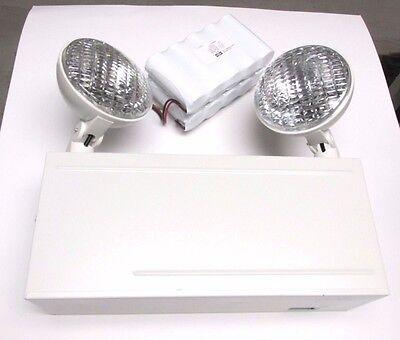 Nib .. Liteforms Dual Lite 7.2w 6v Emergency Lights Model Lm50n .. Vz-01