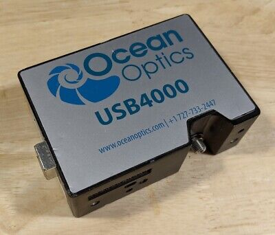 Ocean Optics Usb4000 Nir Fiber Optic Spectrometer With 573-882nm Bandwidth Usb
