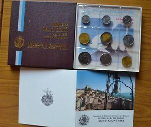 CONFEZIONE-REPUBBLICA-SAN-MARINO-SERIE-9-MONETE-IN-LIRE-ANNO-1983-FDC-SUBALPINA