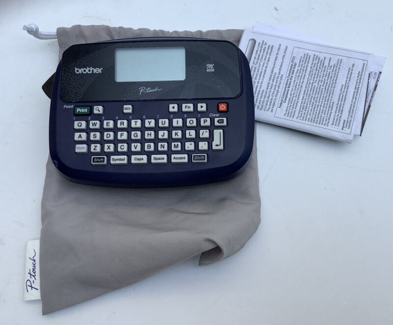 Brother P-touch Label Maker Printer Model PT-45 Tested Works