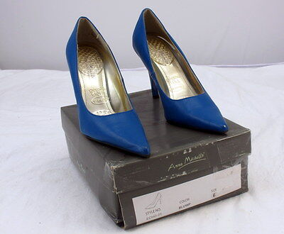 Anne Michelle Echo-01 Blue Womens High Heel Shoes Size 6 Pre-Owned