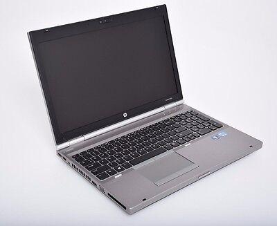 HP EliteBook Laptop Computer 8560p Core i7 2.7 GHz 4GbRam  No HDD