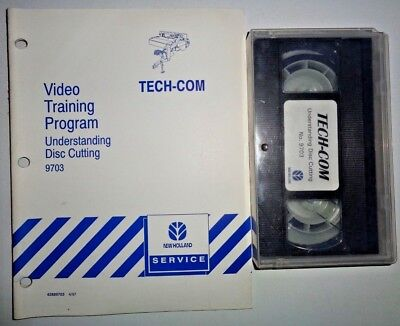 New Holland Disc Mower Conditioner Cutting Training Program Manual Video Nh