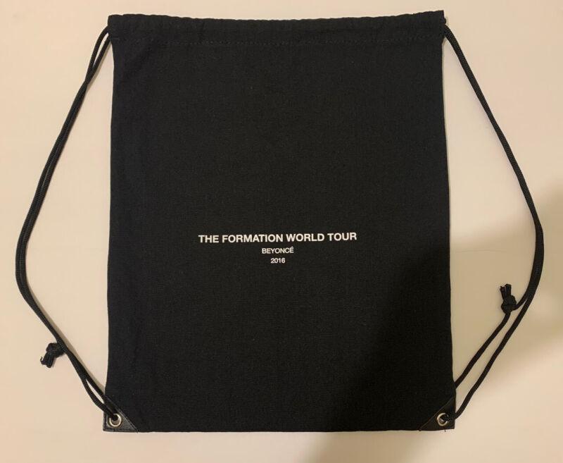 Original Beyoncé The Formation Wourld Tour 2016 Swag Bag Black
