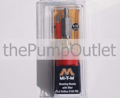 Mi-T-M Pressure Washer Rotating Turbo Nozzle  4.0 Orifice 5100 PSI AW-7510-0004