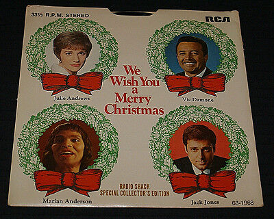We Wish You A Merry Christmas 4 song record 7