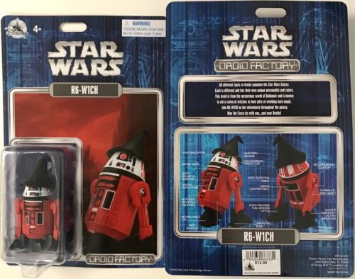 Disney Parks 2021 Star Wars R6-W1CH Halloween Droid Factory Figure