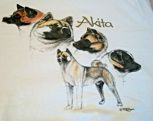 "Akita Sweatshirt "" White "" XL ( 46 - 48 )"
