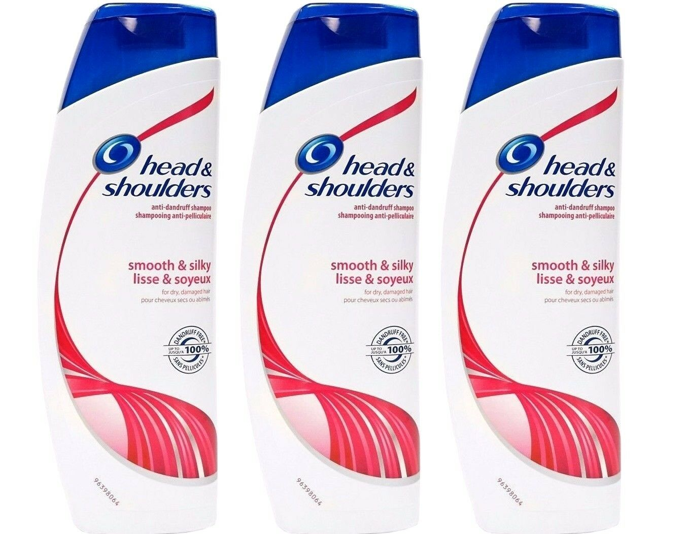 3 x Head and Shoulders Smooth & Silky Shampoo Conditioner 13