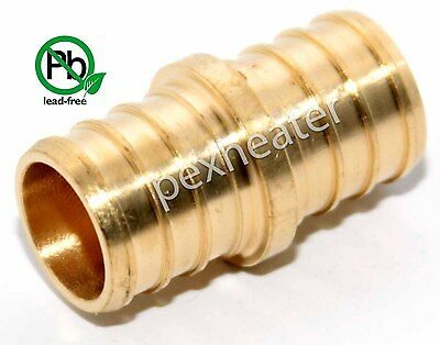 10 34 Pex Coupling Brass Crimping Fittings Lead Free
