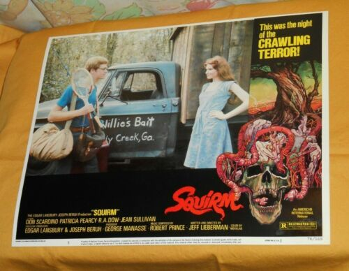 original SQUIRM lobby card #5