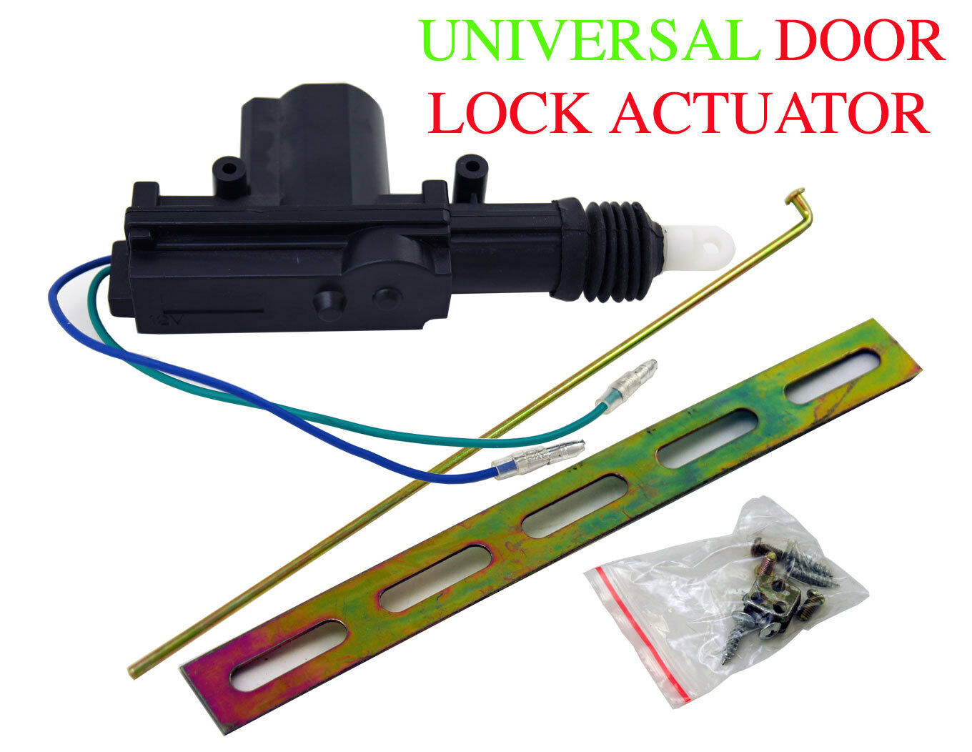 new universal power door lock actuator motor 12 volt