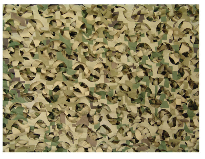 Digital Killer Camo Net Military Nylon Rip-Stop Camouflage Netting (Large) 6532