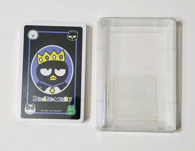 Badtz-Maru Playing Cards Vintage Sanrio SINGLE DECK (1997) -- NEW! SEALED!!