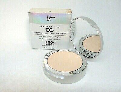 It Cosmetics Your Skin But Better CC+ Airbrush Perfecting Powder ~ Fair ~.33 oz