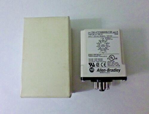 Allen Bradley 700-HTF22600SU120 700-HT Single Range Timing Relay 120VAC 50/60Hz