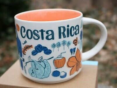 NEW Starbucks Costa Rica Been There Series Coffee Mug 14 Oz Ounce