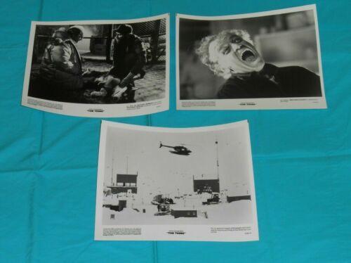 original THE THING black and white 8x10 still photo x3 (set B) John Carpenter