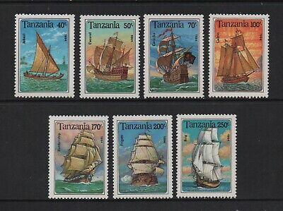 TANZANIA 1994 SAILING SHIPS (SG1791/97) *VF MNH*