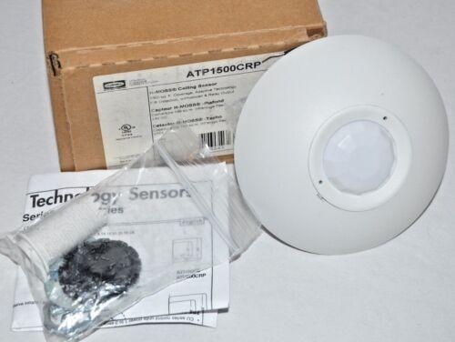 Hubbell ATP1500CRP Ceiling Sensor, Passive Infrared, Photocell 1500sqft White