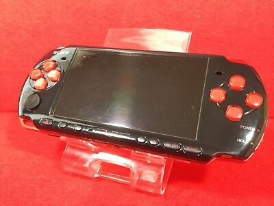 Used Original Sony PSP 3000 Red Black Limited Console Battery F/S Japan for sale  Shipping to Nigeria