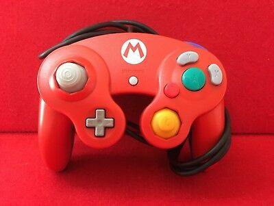 Used Club Nintendo Gamecube Mario Controller Tested&working RARE F/S Japan