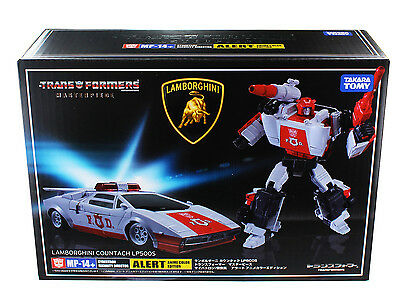 Transformers Masterpiece MP-14+ Red Alert (Anime Colors) Action Figure