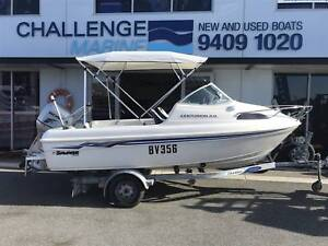 Savage 480 with 2011 Honda 4 stroke **under offer**