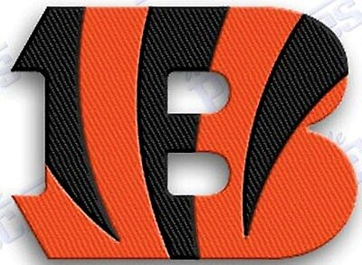 CINCINNATI BENGALS    iron on 100% embroidered PATCH NFL FOOTBALL PATCHES  Cincinnati Bengals Embroidered Football