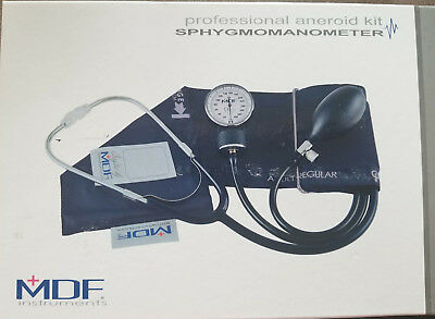 Aneroid-kit (MDF Professional Aneroid Kit Sphygmomanometer MDF 808 Adult Blood Pressure)