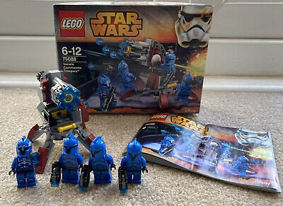 Lego Star Wars 75088 SENATE COMMANDO TROOPERS 100% Complete Boxed