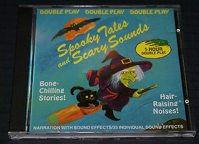 SPOOKY TALES and SCARY SOUNDS 1 HOUR NARRATION & CLASSIC HALLOWEEN SOUND EFFECTS