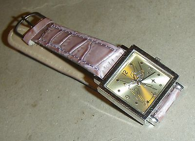 Ladies quartz TINKER BELL watch by DISNEY