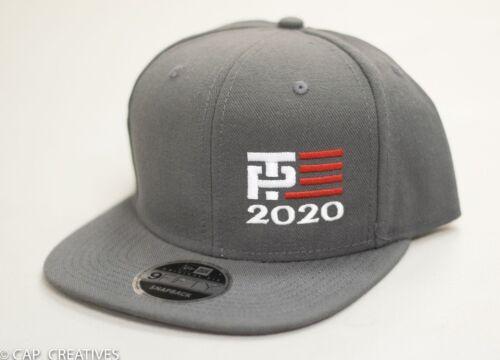 Make America Great Again- Donald Trump Hat 2020 -TP Flag US NEW ERA Charcoal Cap