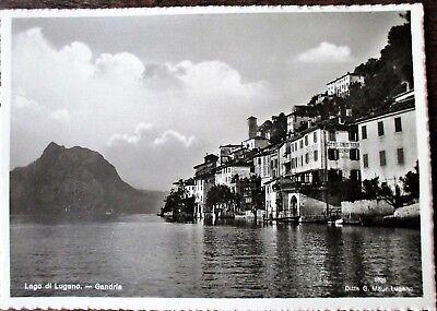 GANDRIA Lago di Lugano alte AK ungelaufen N° 587