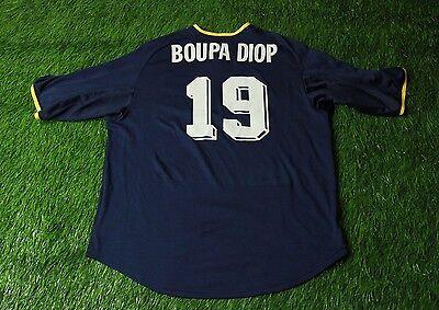 RACING CLUB DE LENS # 19 BOUPA DIOP 2002/2003 FOOTBALL SHIRT JERSEY AWAY NIKE image