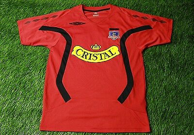 COLO-COLO CHILE 2008/2009 FOOTBALL SHIRT JERSEY MAGLIA GOALKEEPER UMBRO ORIGINAL image