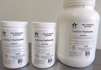 Sodium Hydroxide 98 Pure Micropearls 5 Lb Caustic Soda Lye Food Grade 7025
