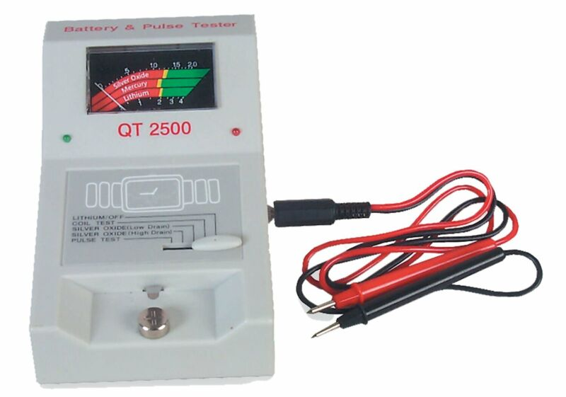 Watch Battery Pulse Tester QT 2500