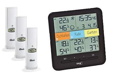TFA Dostmann 30.3060.01 Klima Home Wireless Thermometer Hygrometer Temperature