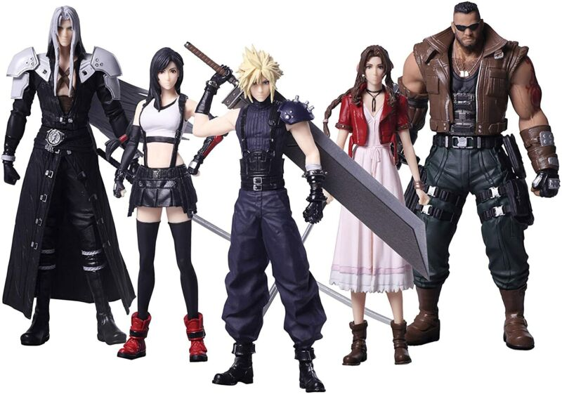 NEW SQUARE ENIX Final Fantasy VII Remake Trading Arts Box All 5 Types Figure